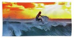 Surferking Hand Towel