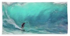 Surfing Hand Towel
