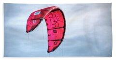 Surfing Kite Bath Towel
