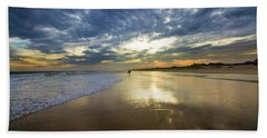Surf's Up At Rogers Beach Bath Towel