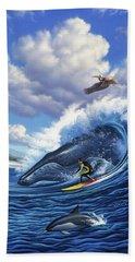 Surf's Up Bath Towel