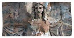 Surreal Fantasy Dreamy Angel Art Wings Bath Towel