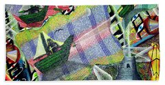 Surrealism Of The Souls Hand Towel