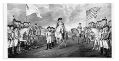 Surrender Of Lord Cornwallis At Yorktown Hand Towel by War Is Hell Store