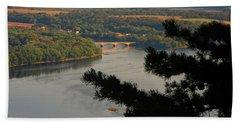 Susquehanna River Below Hand Towel