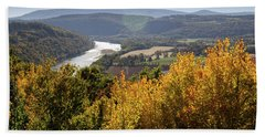 Susquehanna River  Bath Towel