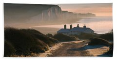 Sussex Coast Guard Cottages Bath Towel