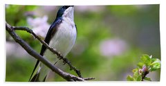 Swallow Song Hand Towel