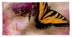 Swallow Tail Full Of Beauty Hand Towel