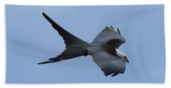Swallow-tailed Kite #1 Hand Towel by Paul Rebmann