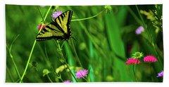 Swallowtail Butterfly Bath Towel