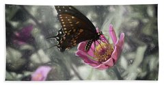 Swallowtail In A Fairytale Bath Towel