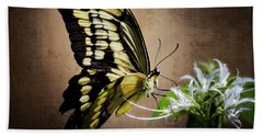 Swallowtail Bath Towel