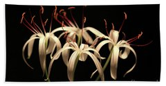 Swamp Lily Hand Towel by Meg Rousher