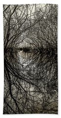 Hand Towel featuring the photograph Swamp Tunnel by Andy Crawford