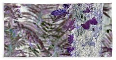 Ferns Of A Different Color Bath Towel
