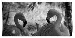 Swan Dance Hand Towel