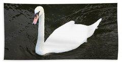 Swan Hand Towel