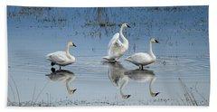 Swan Lake Bath Towel