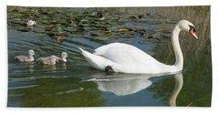 Swan Scenic Bath Towel