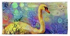 Swan Spectacular Oil Bath Towel