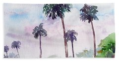 Swaying Palms Hand Towel