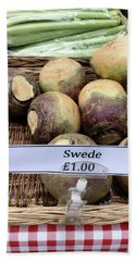 Swede Crop For Sale Hand Towel