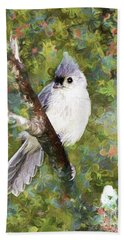 Sweet And Endearing Bath Towel by Tina  LeCour
