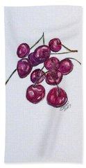 Sweet Cherry Hand Towel