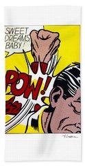 Sweet Dreams Baby Hand Towel by Roy Lichtenstein