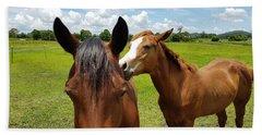 Sweet Horses  Bath Towel