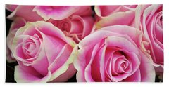 Sweet Rose For All The Lovely Ladies Who Comment On My Work Hand Towel