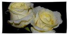 Friendship Roses Bath Towel