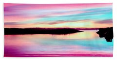 Sweet Sunset Hand Towel