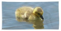 Sweet Swimming Gosling Bath Towel