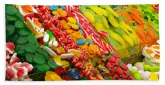 Bath Towel featuring the photograph Sweet Tooth by Sue Melvin