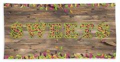 Sweets Bath Sheet by La Reve Design