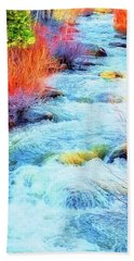 Bath Towel featuring the photograph Swift by Nancy Marie Ricketts