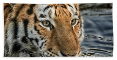 Swimming Tiger Bath Towel