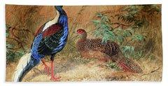 Swinhoe's Pheasant  Hand Towel