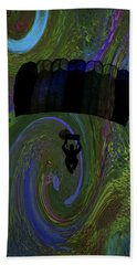 Hand Towel featuring the photograph Swirling Air Bath by Lesa Fine
