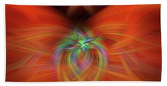 Hand Towel featuring the photograph Swirly Twirls by Cathy Donohoue