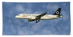 Swiss Star Alliance Livery Airbus A320-214 5 Bath Towel