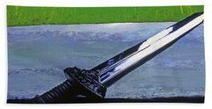 Sword Of Protection  Hand Towel