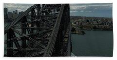 Sydney Harbour Bridge View From Tower Bath Towel