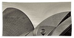 Sydney Opera House Roof Detail Bath Towel