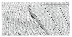 Sydney Opera House Roof No. 10-1 Bath Towel