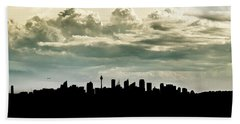 Sydney Skyline Bath Towel