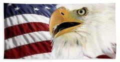 Symbol Of America Bath Towel