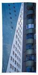 Hand Towel featuring the photograph Synergy Between Old And New Apartments by John Williams